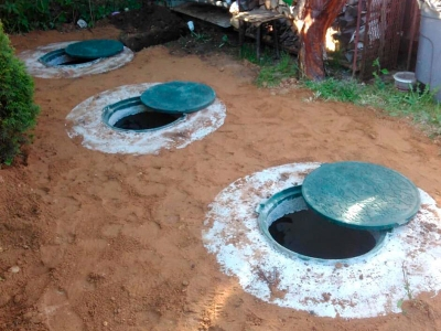 Септики из бетонных колец